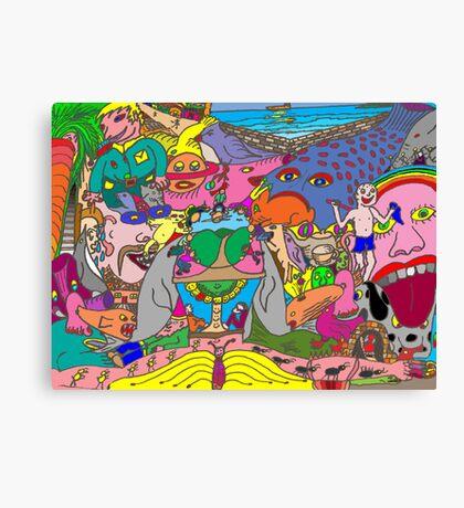 Weird Canvas Print