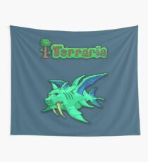 Terraria Duke Fishron Wall Tapestry