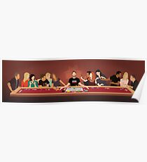 Tabletop Last Supper Poster