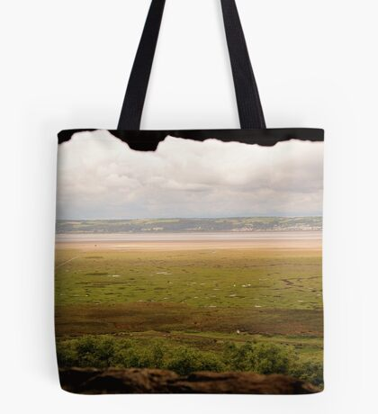 Gower Salt Marsh - As Seen From Weobly Castle Tote Bag