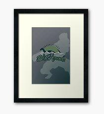 Ember Island Eel Hounds Framed Print