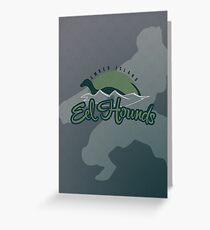 Ember Island Eel Hounds Greeting Card