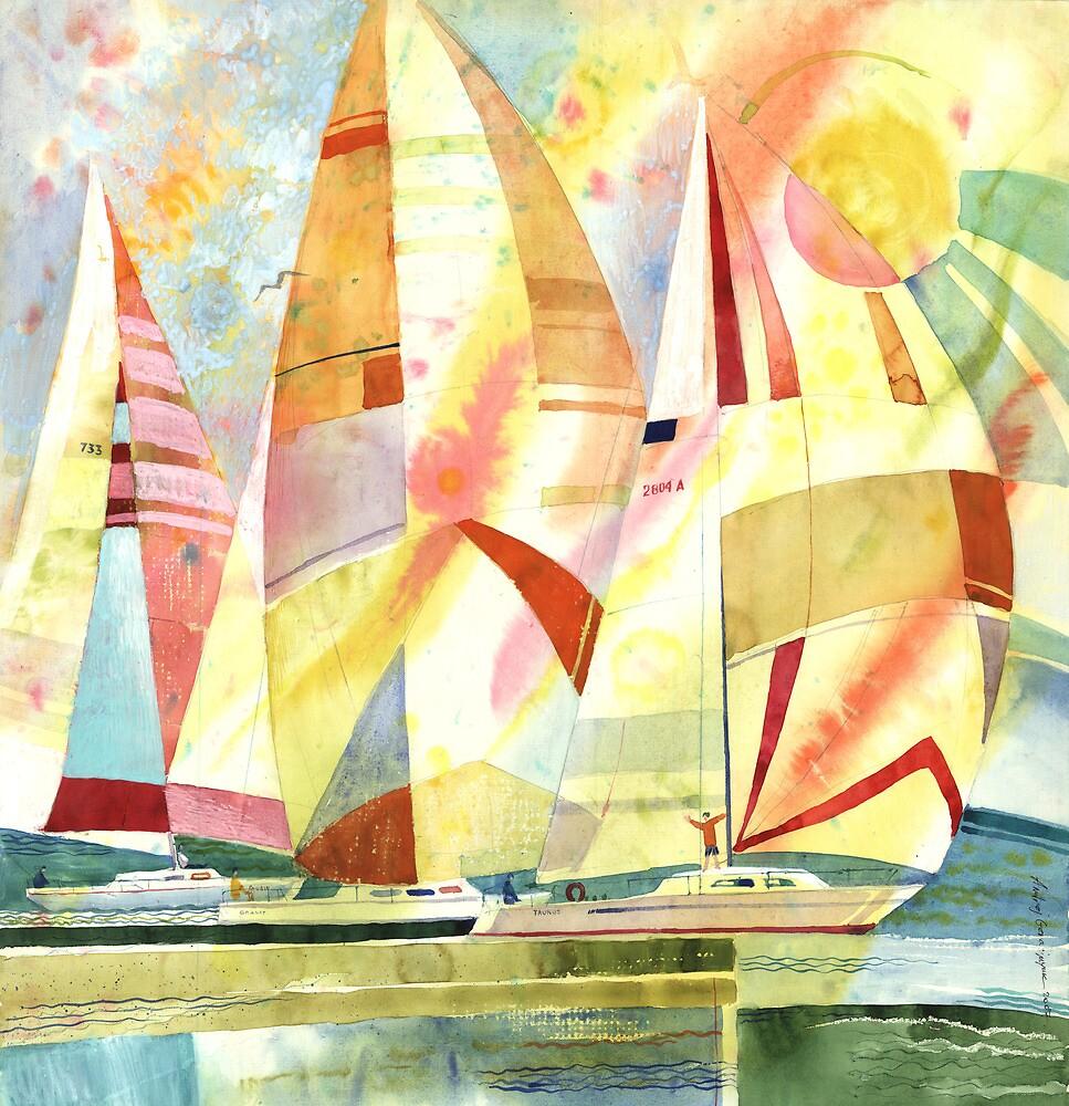 "Sun (Triptych ""Water. Sun. Wind"") by AndrejGerasimuk"