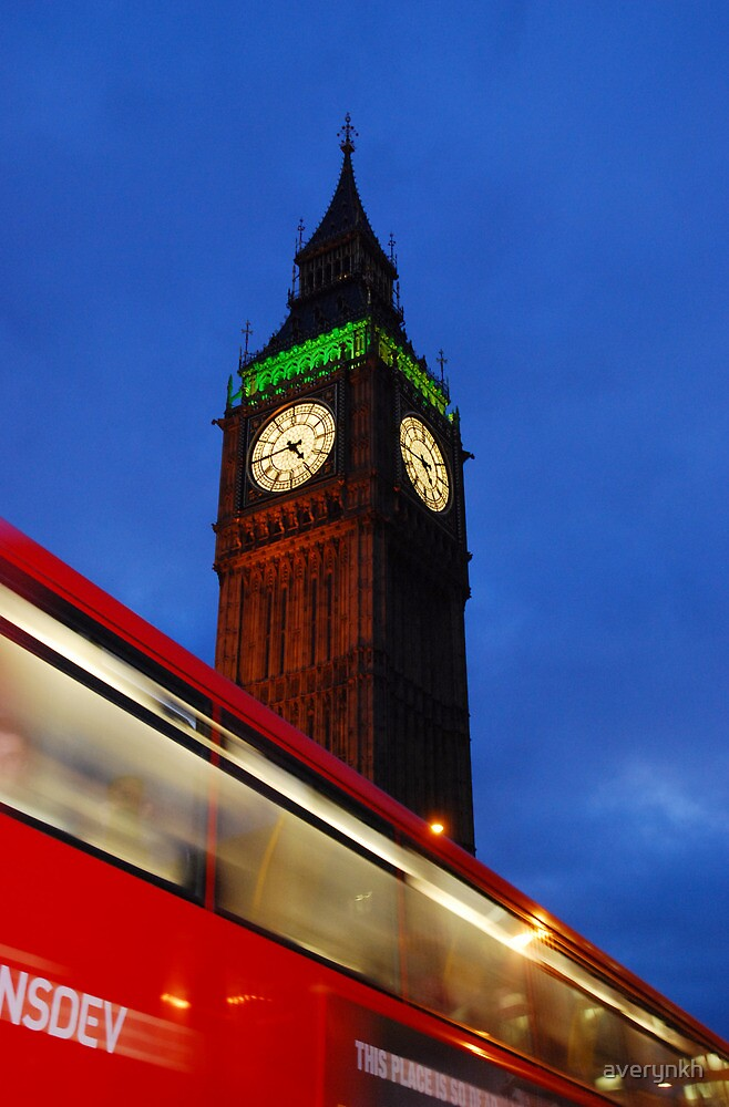 Bus Motion Effect at London by averynkh
