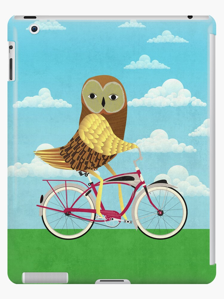 Owl Bicycle by Wyattdesign