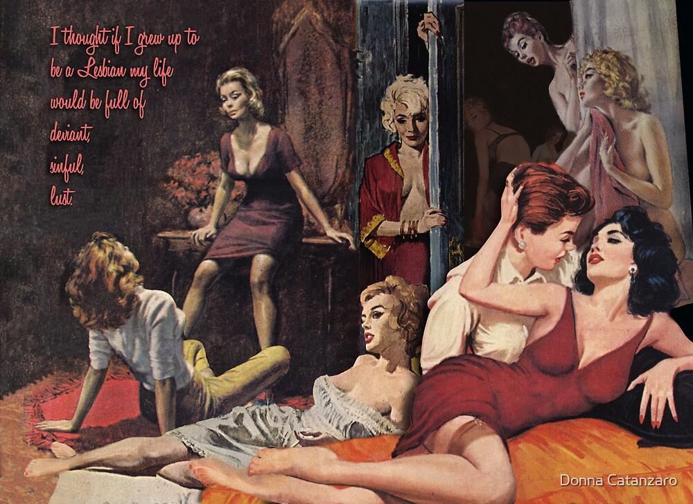 Pulp Novel Fantasy by Donna Catanzaro