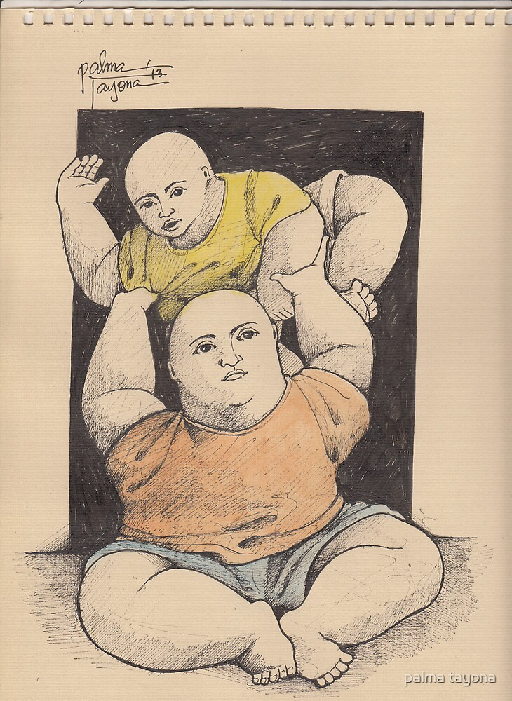 FATHER AND SON by palma tayona