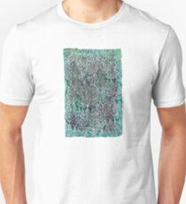 Snow Pines (Dark Green) Unisex T-Shirt