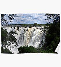 Victoria Falls View - Zambia Poster
