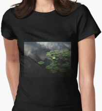 Heavenly Water Womens Fitted T-Shirt