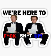 Step Brothers Tuxedos Sticker