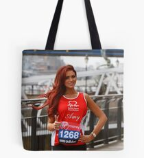 Amy Childs from the only way is Essex programme Tote Bag