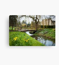 Heaver Castle in Springtime Canvas Print