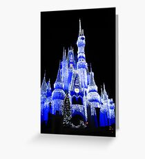 Ice Castle Greeting Card