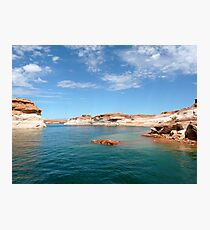 Seascape in Blue and Green Photographic Print