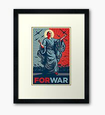 Obama FORWAR Framed Print