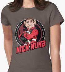 Star Wars Sullustan Smuggler Nien Nunb Crest  Women's Fitted T-Shirt