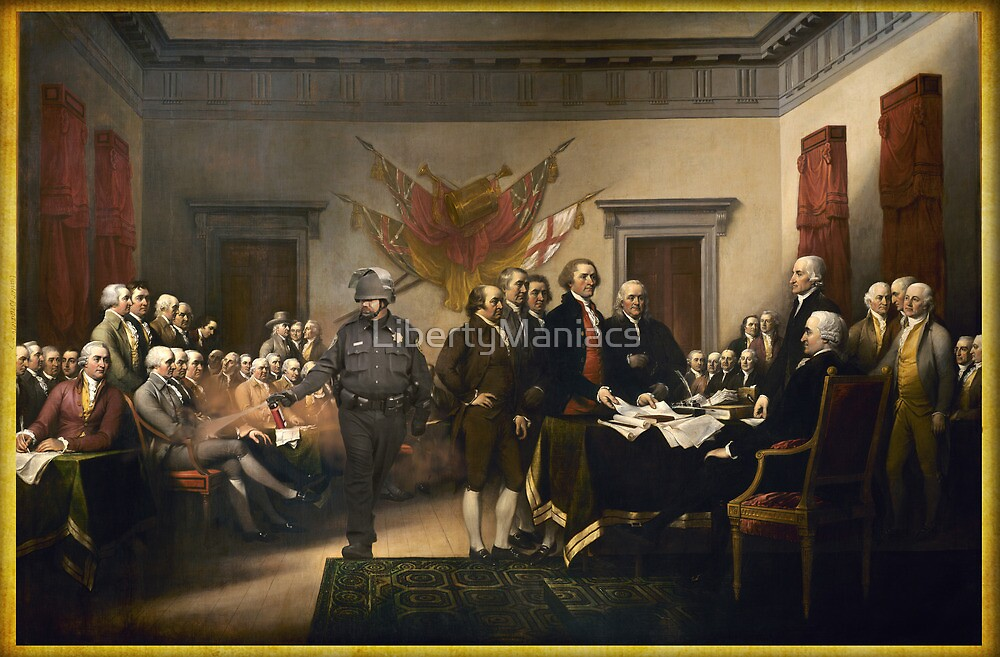 Declaration Of Independence Gas by LibertyManiacs