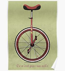 Unicycle Poster