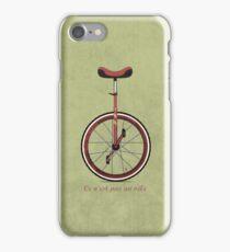 Unicycle iPhone Case/Skin