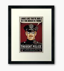 Thought Police Gerahmtes Wandbild