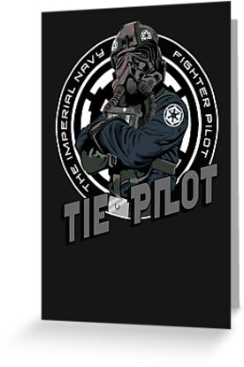 TIE Pilot Crest by Creative Spectator