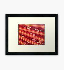 Stripes and Stars 3 Series 1 Framed Print