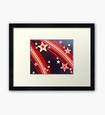 Stripes and Stars 4 Series 1 Framed Print