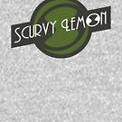 Scurvy Lemon Dark Green by Elton McManus