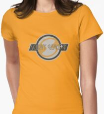 Scurvy Lemon Grey Womens Fitted T-Shirt