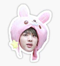 Jin Bunny Hat | BTS Sticker
