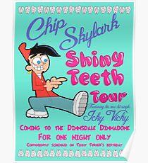 Chip Skylark Tour Poster - Faily Oddparents Poster