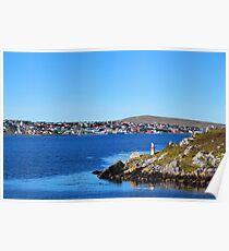 The Falkland Islands - Port Stanley Poster