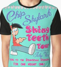 Chip Skylark Tour Poster - Faily Oddparents Graphic T-Shirt