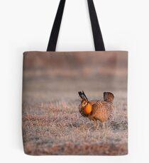 Prairie Chicken-8 Tote Bag