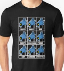 The Many Faces of Whirl Unisex T-Shirt