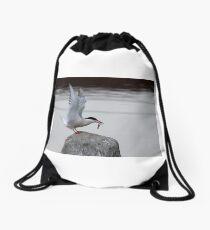Common Tern Drawstring Bag