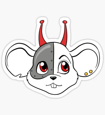 Biker Mice from Mars - Vinnie Sticker