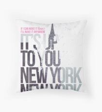 It's Up To You Throw Pillow