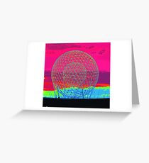 A City On The Rise Greeting Card