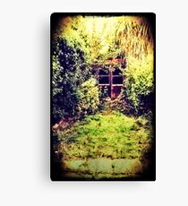 The Shed at the End of the Garden Canvas Print