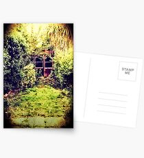 The Shed at the End of the Garden Postcards