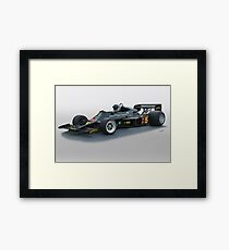 1976 Lotus Formula One Racecar Framed Print