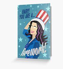 Firework! Greeting Card