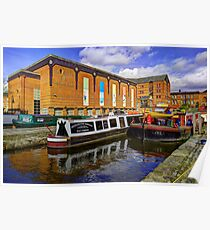 Castlefield Boats Poster