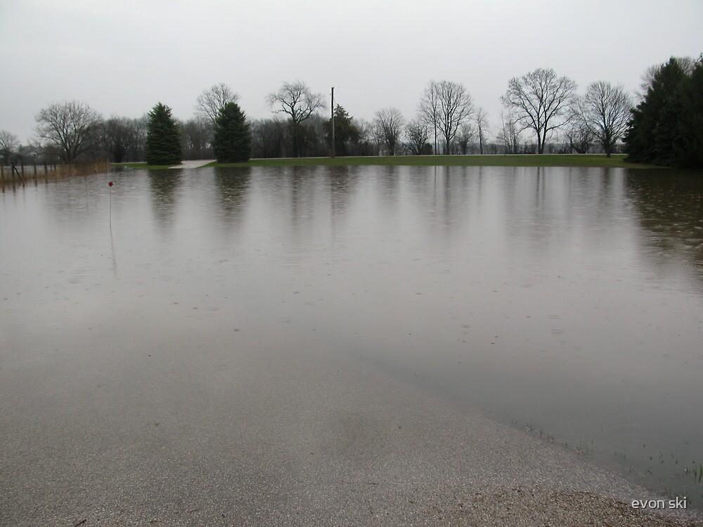 flooded in by Spring rains by evon ski