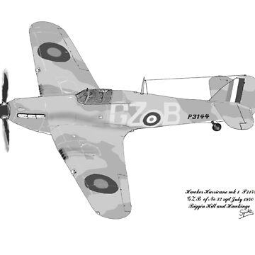 Hawker Hurricane July 1940 by Radwulf