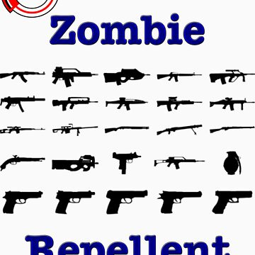 Zombie Repellent /w Logo by ShelfDome