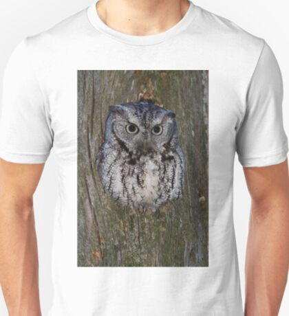 Eastern Screech Owl eye opener T-Shirt