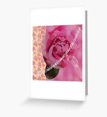 God Values a Gentle Spirit Greeting Card